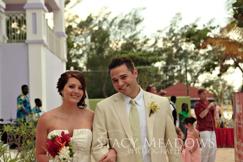 Sunset wedding jamaica